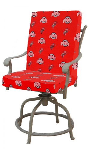 Ohio State Buckeyes 2 Piece Chair Cushion