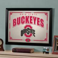 "Ohio State Buckeyes 23"" x 18"" Mirror"