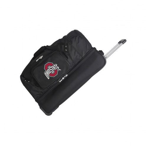 "Ohio State Buckeyes 27"" Drop Bottom Wheeled Duffle Bag"