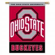 "Ohio State Buckeyes 28"" x 40"" Two-Sided Banner"