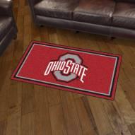 Ohio State Buckeyes 3' x 5' Area Rug