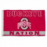 Ohio State Buckeyes 3' x 5' Nation Flag