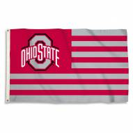 Ohio State Buckeyes 3' x 5' Stripes Flag