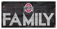 "Ohio State Buckeyes 6"" x 12"" Family Sign"