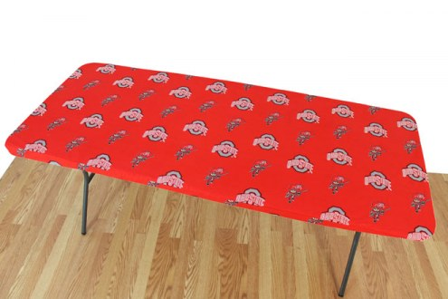 Ohio State Buckeyes 8' Table Cover