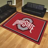 Ohio State Buckeyes 8' x 10' Area Rug