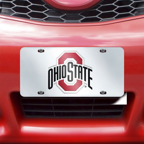 Ohio State Buckeyes Acrylic License Plate