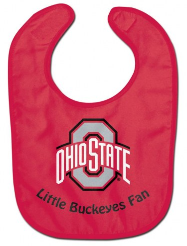 Ohio State Buckeyes All Pro Little Fan Baby Bib