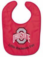 Ohio State Buckeyes All Pro Little Fan Baby Bib