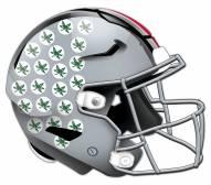 Ohio State Buckeyes Authentic Helmet Cutout Sign