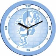Ohio State Buckeyes Baby Blue Wall Clock