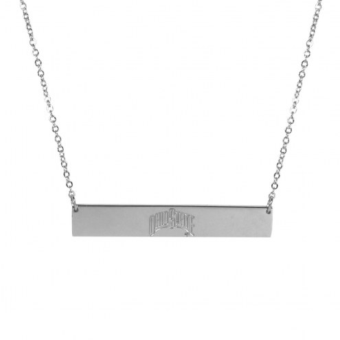 Ohio State Buckeyes Bar Necklace