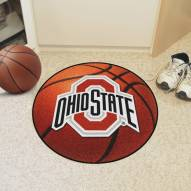 Ohio State Buckeyes Basketball Mat