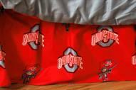 Ohio State Buckeyes Bed Skirt