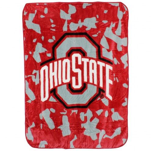 Ohio State Buckeyes Bedspread