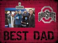 Ohio State Buckeyes Best Dad Clip Frame