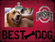 Ohio State Buckeyes Best Dog Clip Frame