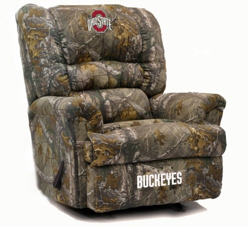 Ohio State Buckeyes Big Daddy Camo Recliner