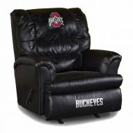 Ohio State Buckeyes Big Daddy Leather Recliner