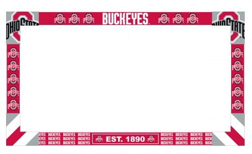 Ohio State Buckeyes Big Game Monitor Frame