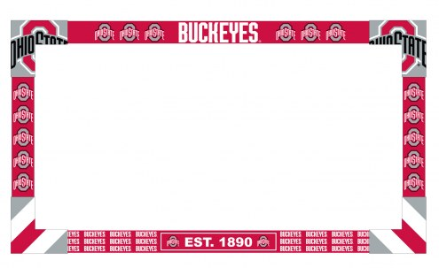 Ohio State Buckeyes Big Game TV Frame