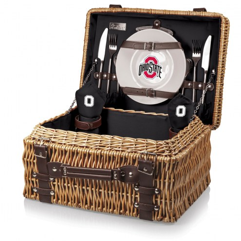 Ohio State Buckeyes Black Champion Picnic Basket