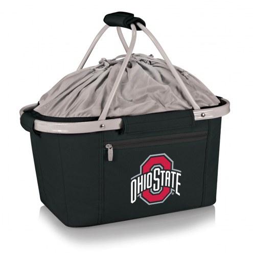 Ohio State Buckeyes Black Metro Picnic Basket