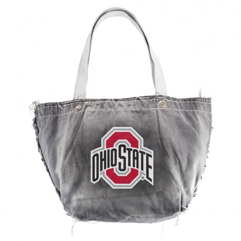 Ohio State Buckeyes Black NCAA Vintage Tote Bag