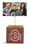 Ohio State Buckeyes Block Spiral Photo Holder