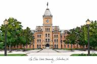 Ohio State Buckeyes Campus Images Lithograph