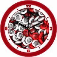Ohio State Buckeyes Candy Wall Clock