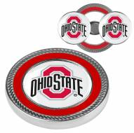 Ohio State Buckeyes Challenge Coin with 2 Ball Markers