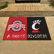 Ohio State Buckeyes House Divided Mat
