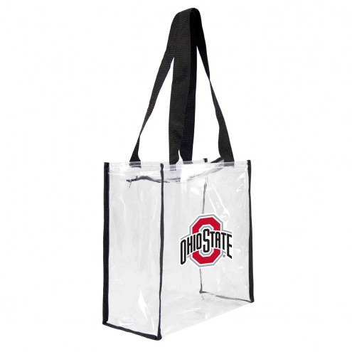Ohio State Buckeyes Clear Square Stadium Tote