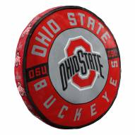 Ohio State Buckeyes Cloud Travel Pillow