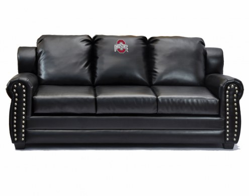 Ohio State Buckeyes Coach Leather Sofa