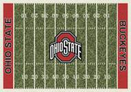 Ohio State Buckeyes College Home Field Area Rug