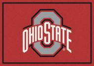 Ohio State Buckeyes College Team Spirit Area Rug