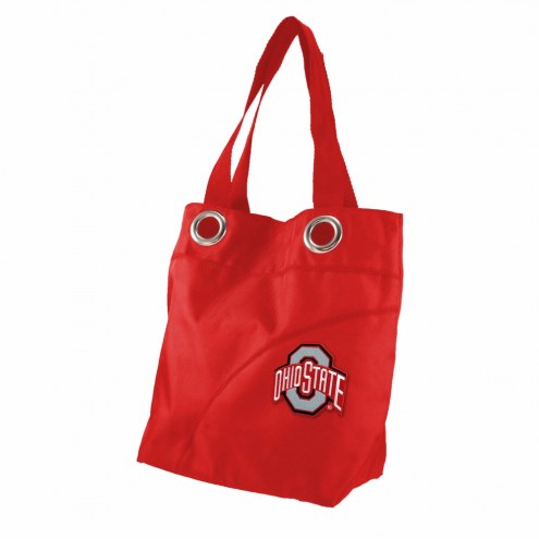 Ohio State Buckeyes Color Sheen Tote Bag