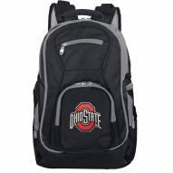 NCAA Ohio State Buckeyes Colored Trim Premium Laptop Backpack