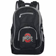 NCAA Ohio State Buckeyes Colored Trim Premium Laptop Backpack