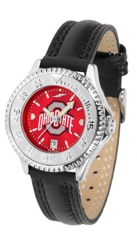 Ohio State Buckeyes Competitor AnoChrome Women's Watch