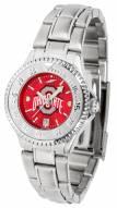 Ohio State Buckeyes Competitor Steel AnoChrome Women's Watch