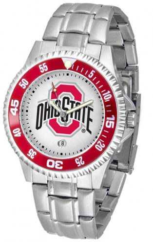 Ohio State Buckeyes Competitor Steel Men's Watch