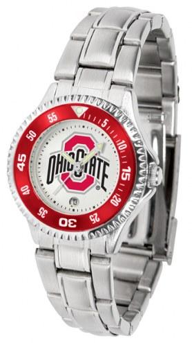 Ohio State Buckeyes Competitor Steel Women's Watch