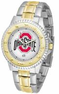 Ohio State Buckeyes Competitor Two-Tone Men's Watch