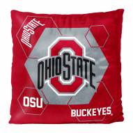 Ohio State Buckeyes Connector Double Sided Velvet Pillow