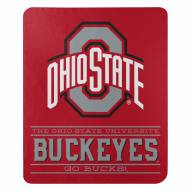 Ohio State Buckeyes Control Fleece Blanket