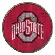"Ohio State Buckeyes Cracked Color 24"" Barrel Top"