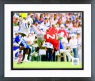 Ohio State Buckeyes Cris Carter 1985 Action Framed Photo